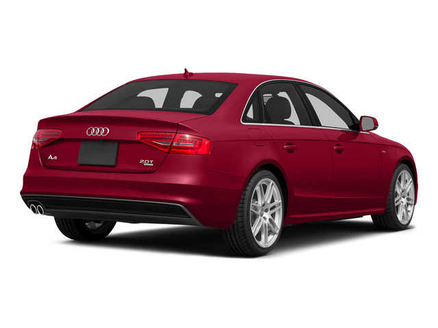 Brilliant Red 2015 Audi A4 Pictures A4 Sedan 4D 2.0T Prestige 2WD photos rear view