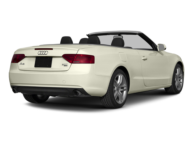 Glacier White Metallic/Black Roof 2015 Audi A5 Pictures A5 Convertible 2D Premium Plus AWD photos rear view