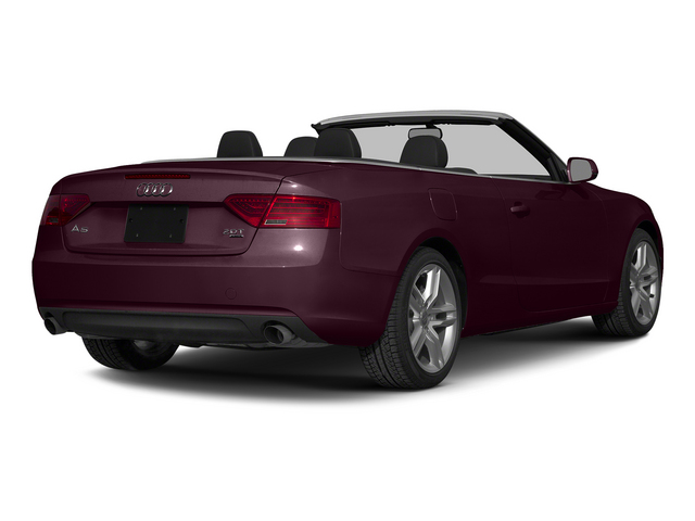Shiraz Red Metallic/Black Roof 2015 Audi A5 Pictures A5 Convertible 2D Premium Plus AWD photos rear view
