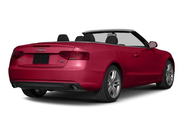 Brilliant Red/Black Roof 2015 Audi A5 Pictures A5 Convertible 2D Premium Plus AWD photos rear view