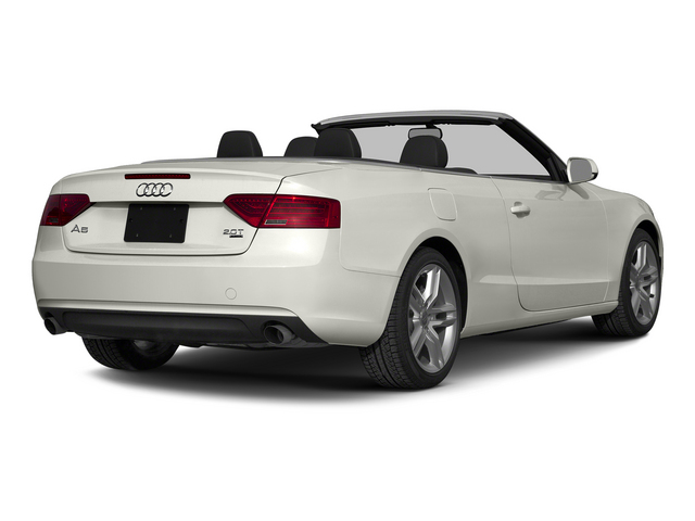 Ibis White/Black Roof 2015 Audi A5 Pictures A5 Convertible 2D Premium Plus AWD photos rear view