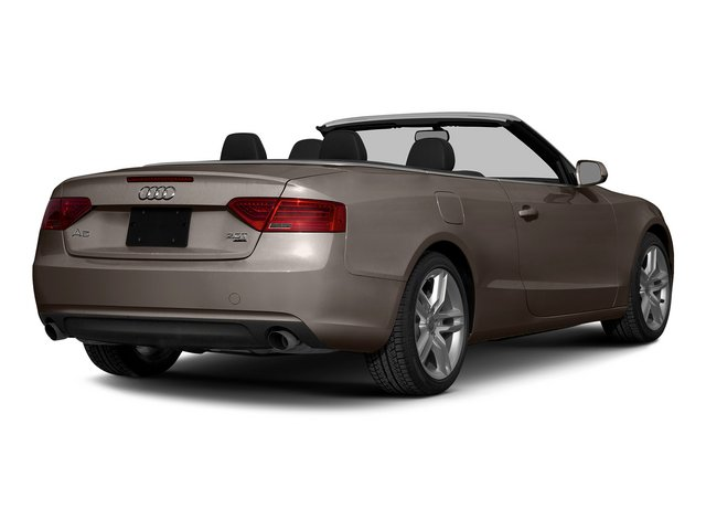 Dakota Gray Metallic/Black Roof 2015 Audi A5 Pictures A5 Convertible 2D Premium Plus AWD photos rear view