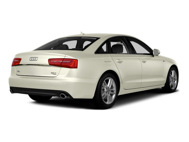 Glacier White Metallic 2015 Audi A6 Pictures A6 Sedan 4D TDI Prestige AWD photos rear view