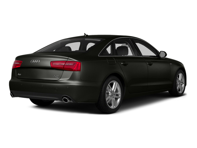 Havanna Black Metallic 2015 Audi A6 Pictures A6 Sedan 4D 2.0T Premium 2WD photos rear view