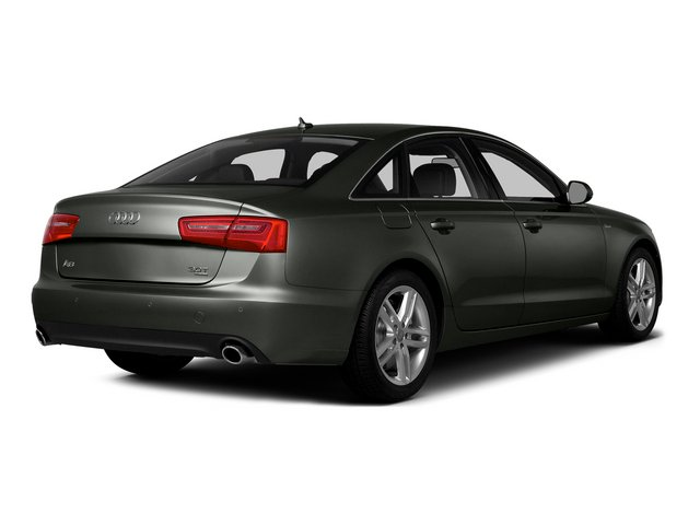 Daytona Gray Pearl Effect 2015 Audi A6 Pictures A6 Sedan 4D TDI Prestige AWD photos rear view