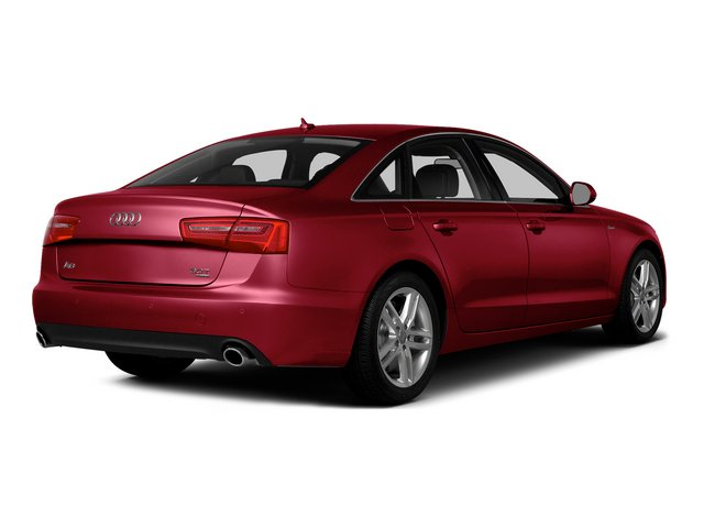 Garnet Red Pearl Effect 2015 Audi A6 Pictures A6 Sedan 4D 2.0T Premium 2WD photos rear view