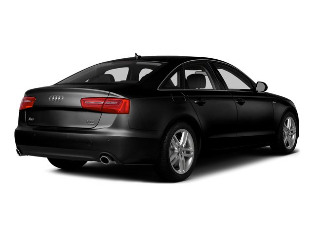 Phantom Black Pearl Effect 2015 Audi A6 Pictures A6 Sedan 4D TDI Prestige AWD photos rear view