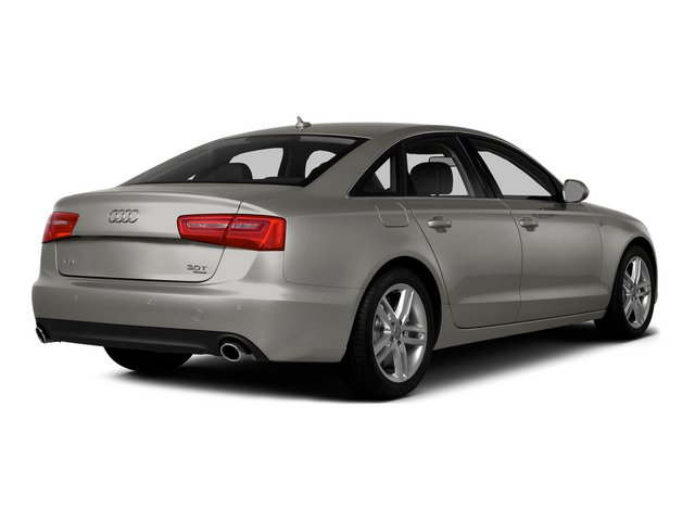 Quartz Gray Metallic 2015 Audi A6 Pictures A6 Sedan 4D 3.0T Prestige AWD photos rear view