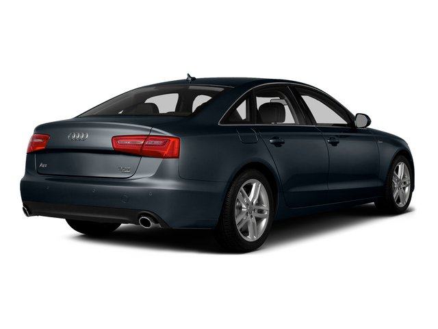 Moonlight Blue Metallic 2015 Audi A6 Pictures A6 Sedan 4D 3.0T Prestige AWD photos rear view