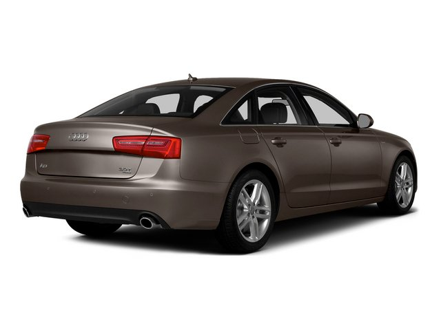 Dakota Gray Metallic 2015 Audi A6 Pictures A6 Sedan 4D 3.0T Prestige AWD photos rear view