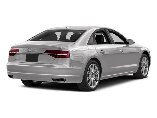 Cuvee Silver Metallic 2015 Audi A8 Pictures A8 Sedan 4D 3.0T AWD V6 Turbo photos rear view