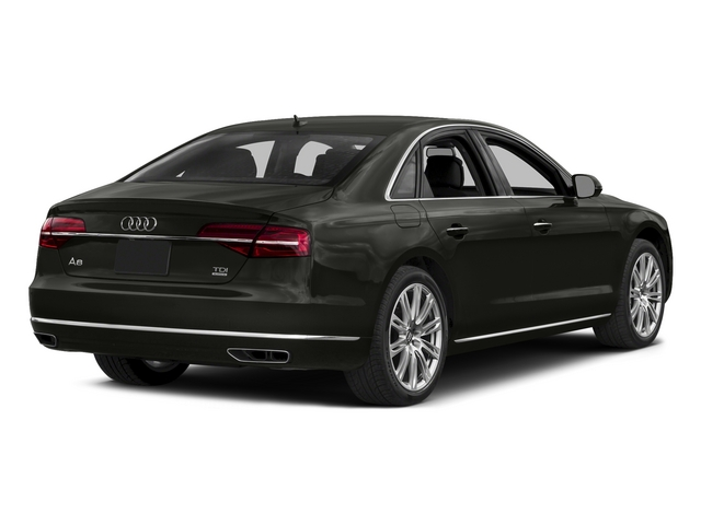 Havanna Black Metallic 2015 Audi A8 Pictures A8 Sedan 4D 3.0T AWD V6 Turbo photos rear view
