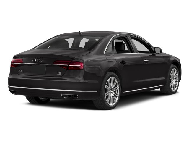 Oolong Gray Metallic 2015 Audi A8 Pictures A8 Sedan 4D 3.0T AWD V6 Turbo photos rear view