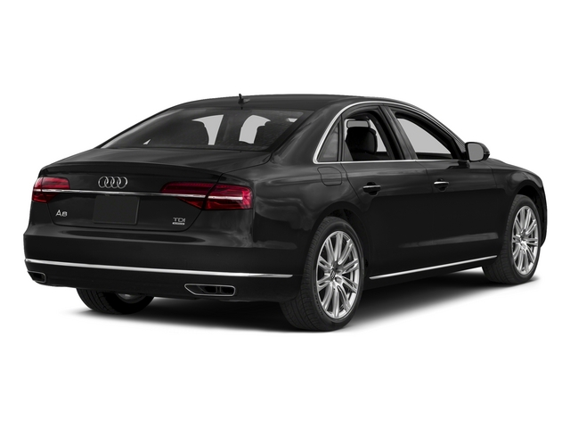 Phantom Black Pearl Effect 2015 Audi A8 Pictures A8 Sedan 4D 3.0T AWD V6 Turbo photos rear view