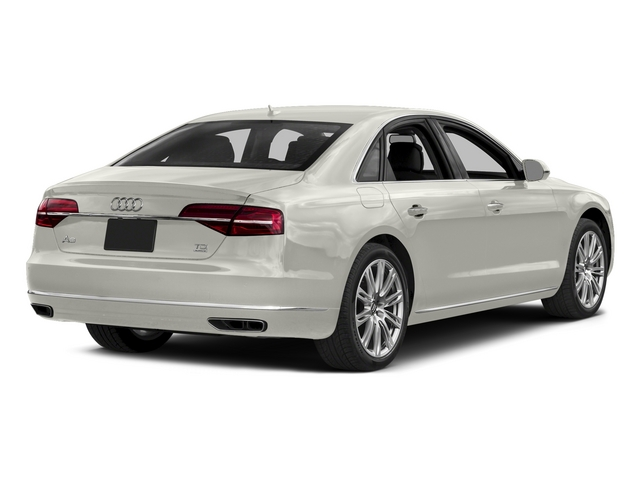Ibis White 2015 Audi A8 Pictures A8 Sedan 4D 3.0T AWD V6 Turbo photos rear view
