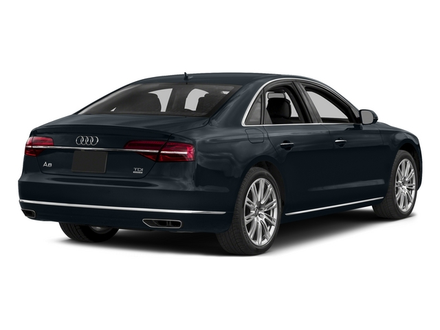 Moonlight Blue Metallic 2015 Audi A8 Pictures A8 Sedan 4D 4.0T AWD V8 Turbo photos rear view