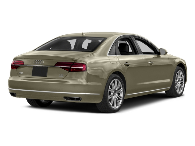 Argus Brown Metallic 2015 Audi A8 Pictures A8 Sedan 4D 3.0T AWD V6 Turbo photos rear view