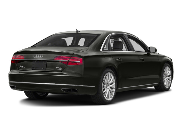 Havanna Black Metallic 2015 Audi A8 L Pictures A8 L Sedan 4D 4.0T L AWD V8 Turbo photos rear view
