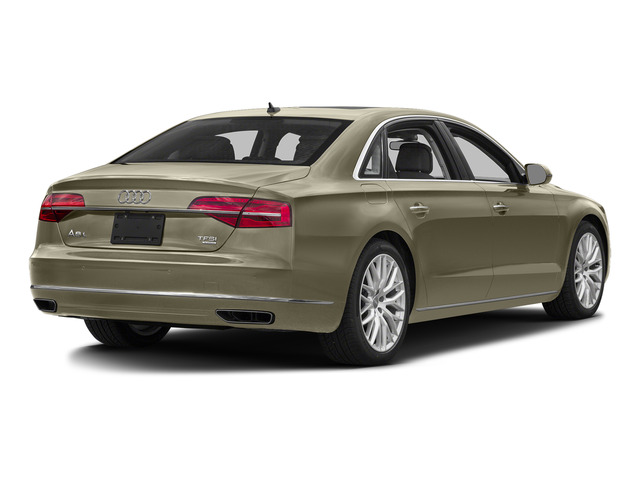 Argus Brown Metallic 2015 Audi A8 L Pictures A8 L Sedan 4D 4.0T L AWD V8 Turbo photos rear view