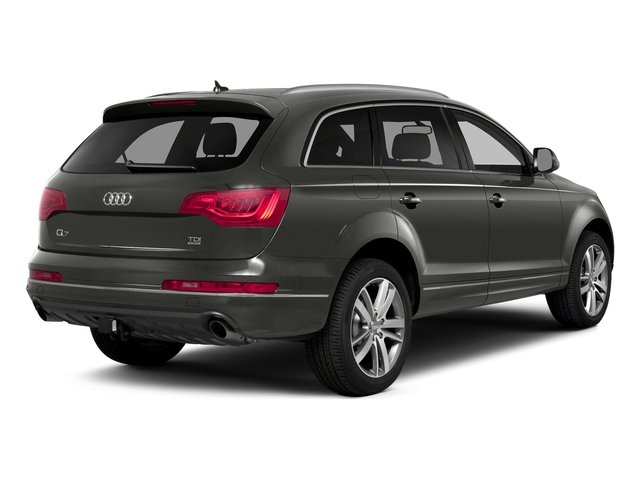 Graphite Gray Metallic 2015 Audi Q7 Pictures Q7 Utility 4D 3.0 Premium AWD photos rear view