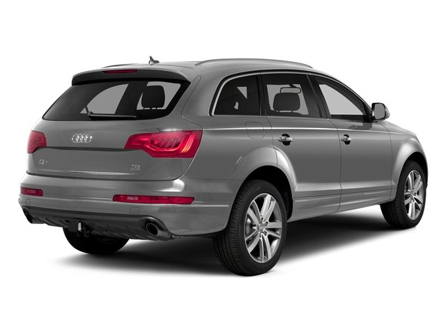 Ice Silver Metallic 2015 Audi Q7 Pictures Q7 Utility 4D 3.0 Premium AWD photos rear view