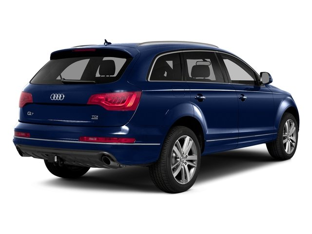Scuba Blue Metallic 2015 Audi Q7 Pictures Q7 Utility 4D 3.0 TDI Premium AWD photos rear view