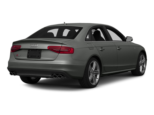 Daytona Gray Pearl Effect 2015 Audi S4 Pictures S4 Sedan 4D S4 Prestige AWD photos rear view