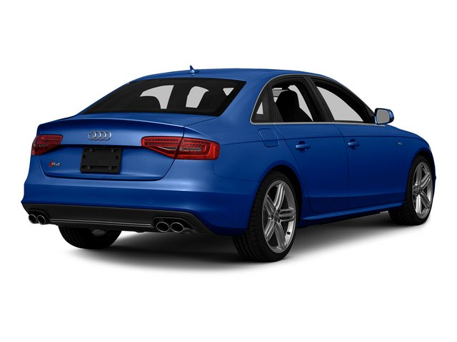 Sepang Blue Pearl Effect 2015 Audi S4 Pictures S4 Sedan 4D S4 Prestige AWD photos rear view