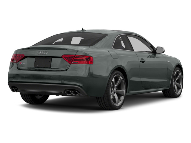 Monsoon Gray Metallic 2015 Audi S5 Pictures S5 Coupe 2D S5 Premium Plus AWD photos rear view