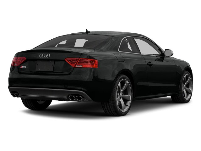 Mythos Black Metallic 2015 Audi S5 Pictures S5 Coupe 2D S5 Premium Plus AWD photos rear view