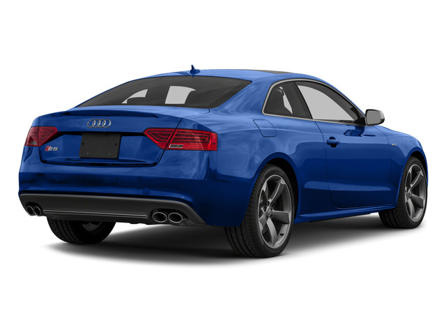 Sepang Blue Pearl Effect 2015 Audi S5 Pictures S5 Coupe 2D S5 Premium Plus AWD photos rear view