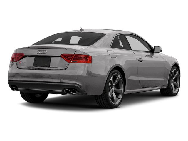 Floret Silver Metallic 2015 Audi S5 Pictures S5 Coupe 2D S5 Premium Plus AWD photos rear view