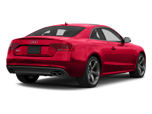 Misano Red Pearl Effect 2015 Audi S5 Pictures S5 Coupe 2D S5 Premium Plus AWD photos rear view