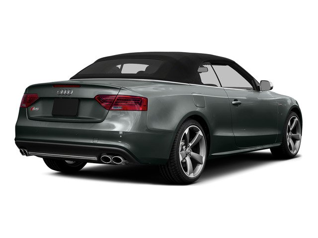 Monsoon Gray Metallic/Black Roof 2015 Audi S5 Pictures S5 Convertible 2D S5 Premium Plus AWD photos rear view