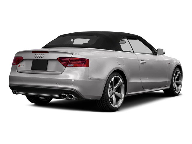 Florett Silver Metallic/Black Roof 2015 Audi S5 Pictures S5 Convertible 2D S5 Premium Plus AWD photos rear view