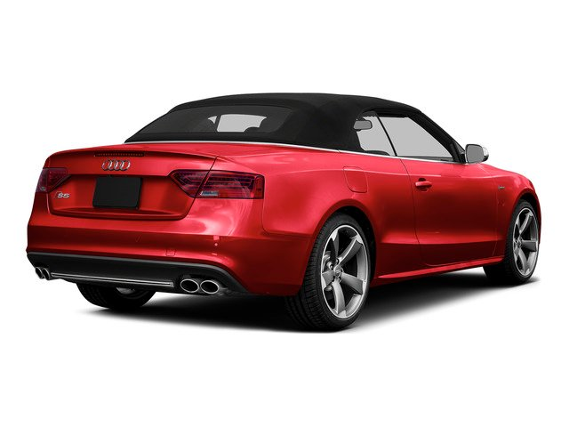 Misano Red Pearl Effect/Black Roof 2015 Audi S5 Pictures S5 Convertible 2D S5 Prestige AWD photos rear view