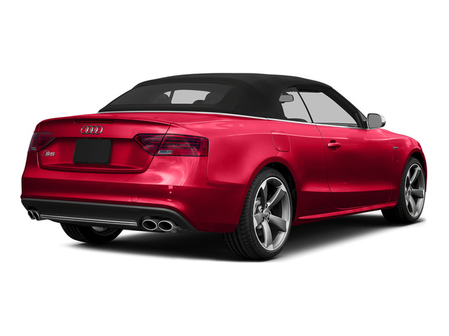 Misano Red Pearl Effect/Black Roof 2015 Audi S5 Pictures S5 Convertible 2D S5 Premium Plus AWD photos rear view