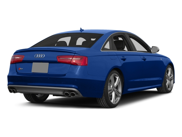 Sepang Blue Pearl Effect/Mugello Blue 2015 Audi S6 Pictures S6 Sedan 4D S6 Prestige AWD photos rear view