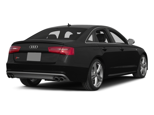 Phantom Black Pearl Effect 2015 Audi S6 Pictures S6 Sedan 4D S6 Prestige AWD photos rear view