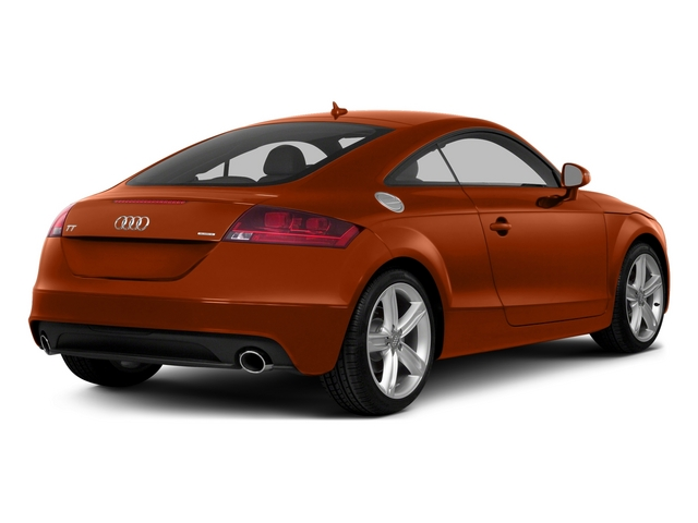 Volcano Red Metallic 2015 Audi TT Pictures TT Coupe 2D AWD photos rear view