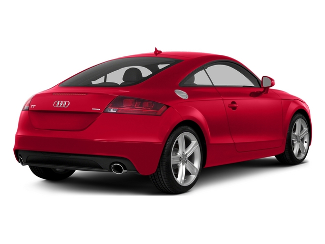 Misano Red Pearl Effect 2015 Audi TT Pictures TT Coupe 2D AWD photos rear view