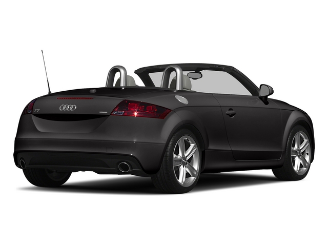 Oolong Gray Metallic/Black Roof 2015 Audi TT Pictures TT Roadster 2D AWD photos rear view