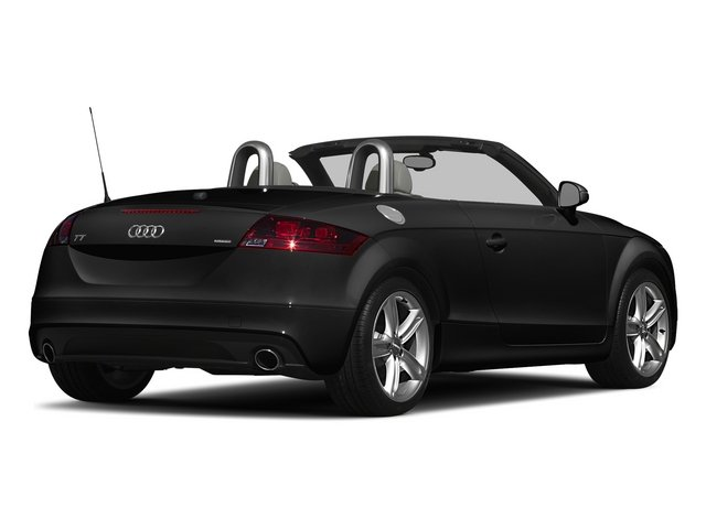 Phantom Black Pearl Effect/Black Roof 2015 Audi TT Pictures TT Roadster 2D AWD photos rear view