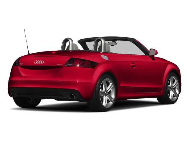 Misano Red Pearl Effect/Black Roof 2015 Audi TT Pictures TT Roadster 2D AWD photos rear view