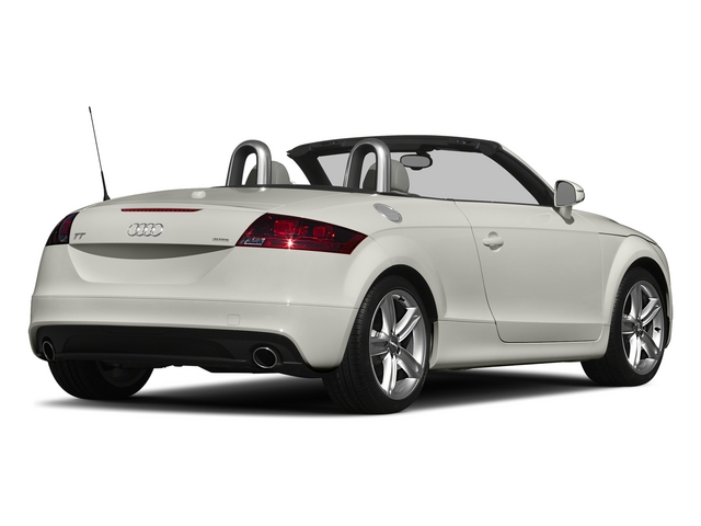 Ibis White/Black Roof 2015 Audi TT Pictures TT Roadster 2D AWD photos rear view