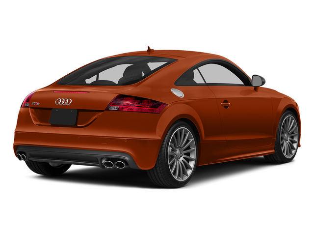 Volcano Red Metallic 2015 Audi TTS Pictures TTS Coupe 2D AWD photos rear view