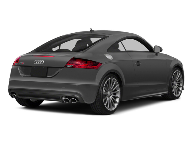 Nimbus Gray Pearl Effect 2015 Audi TTS Pictures TTS Coupe 2D AWD photos rear view