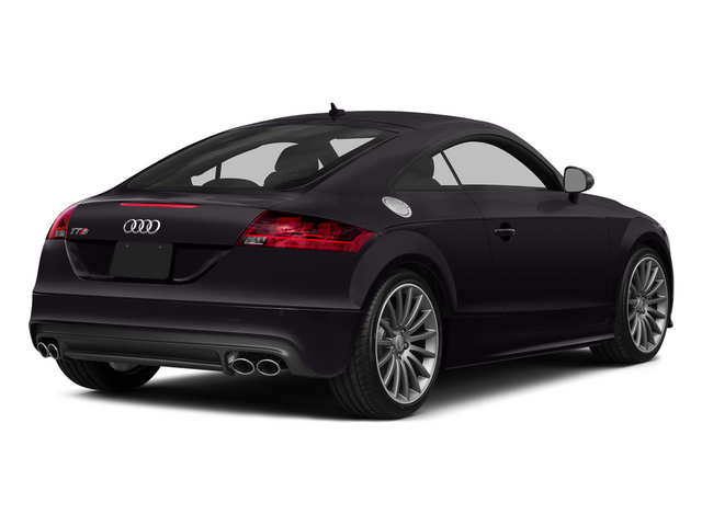 Panther Black Crystal Effect 2015 Audi TTS Pictures TTS Coupe 2D AWD photos rear view