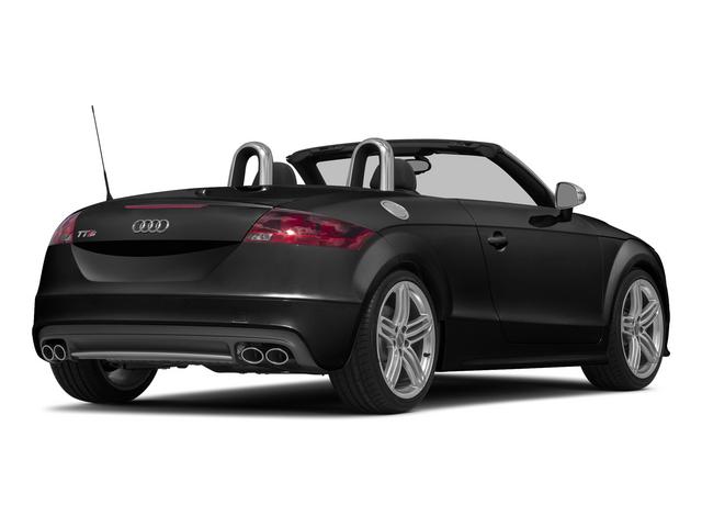 Brilliant Black/Black Roof 2015 Audi TTS Pictures TTS Roadster 2D AWD photos rear view