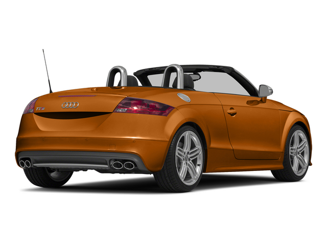 Samoa Orange Metallic/Black Roof 2015 Audi TTS Pictures TTS Roadster 2D AWD photos rear view